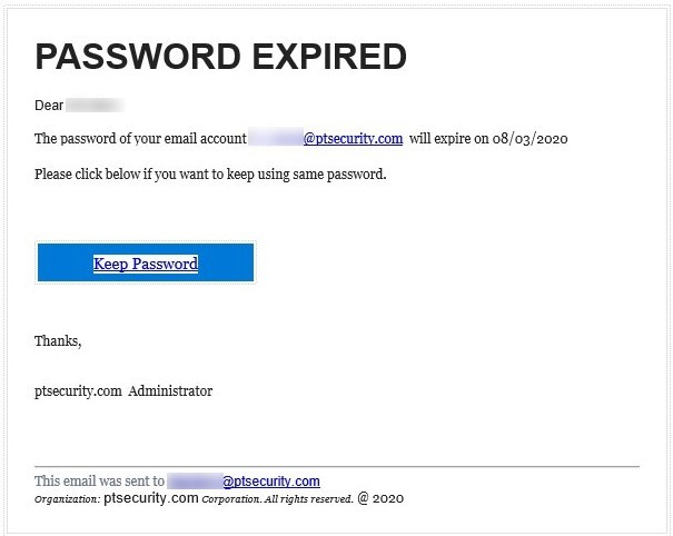 Phishing attempt against Positive Technologies employees