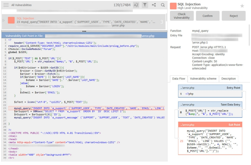 Automated Security Testing via Code Review and Analysis: Web